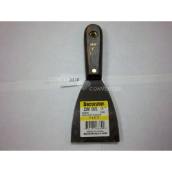 "3"" Flex Putty Knife/Scraper W/ Wooden Handle 24/144"