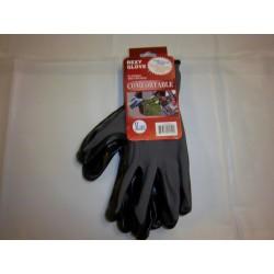 Grey Polyester Work Gloves Nitrile Coated 12/120/Case