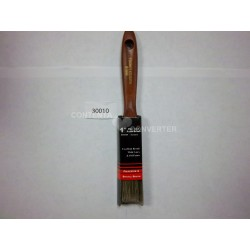 "1"" Polyester-Natural Bristle Blend Paint Brush with wooden handle"